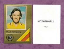 Motherwell Willie Pettigrew Scotland 401